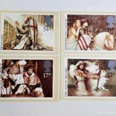 Postales: COLECCION 4 POSTALES CONMEMORATIVAS. Lote 204452662