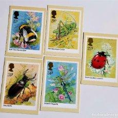 Cartes Postales: COLECCION 5 POSTALES CONMEMORATIVAS. Lote 204598361