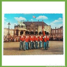 Postales: INGLATERRA POSTAL DE LA ROYAL GUARD EN AMALIENBURG PALACE. Lote 204638465