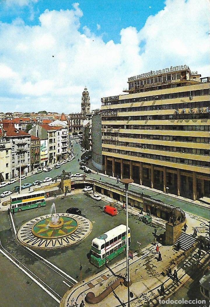 PORTO (PORTUGAL) PRAÇA D. JOÀO I (Postales - Postales Extranjero - Europa)