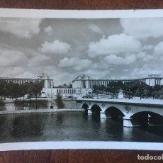 Postales: ANTIGUA FOTOGRAFIA-POSTAL DE PARIS, EL PALAIS DE CHAILLOT. Lote 205650947