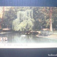 Postales: VICHY-UN COIN DU PARC.. Lote 205685623