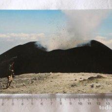 Postales: POSTAL. CONO ERUTTIVO VOLCAN EN ERUPCION IDP 134 ITALIA. Lote 205687896