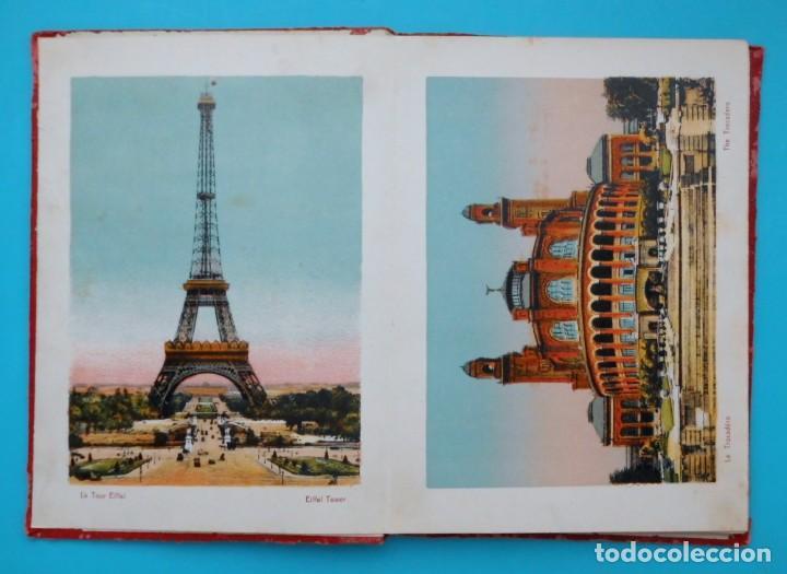 Postales: ANTIGUO SOUVENIR DE PARIS, PHOTOGRAPHIES EN COULEURS - Foto 2 - 205719165