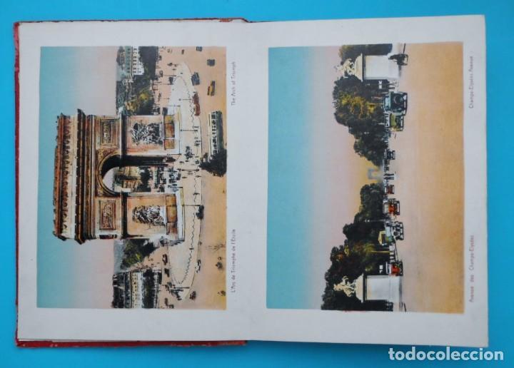 Postales: ANTIGUO SOUVENIR DE PARIS, PHOTOGRAPHIES EN COULEURS - Foto 3 - 205719165