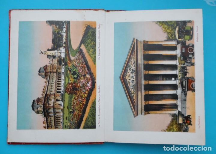 Postales: ANTIGUO SOUVENIR DE PARIS, PHOTOGRAPHIES EN COULEURS - Foto 4 - 205719165
