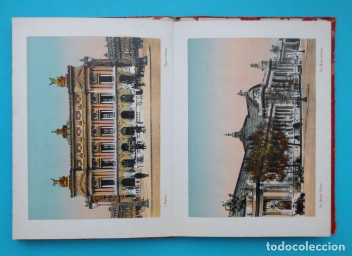 Postales: ANTIGUO SOUVENIR DE PARIS, PHOTOGRAPHIES EN COULEURS - Foto 5 - 205719165