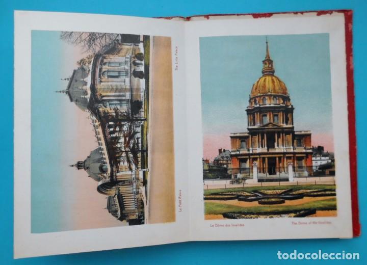 Postales: ANTIGUO SOUVENIR DE PARIS, PHOTOGRAPHIES EN COULEURS - Foto 6 - 205719165