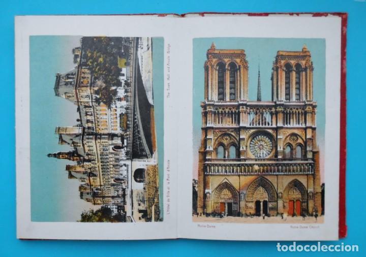 Postales: ANTIGUO SOUVENIR DE PARIS, PHOTOGRAPHIES EN COULEURS - Foto 7 - 205719165