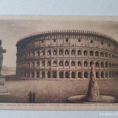 Postales: ROMA RECREACION COLISEO EPOCA DE ADRIANO POSTAL. Lote 205811007