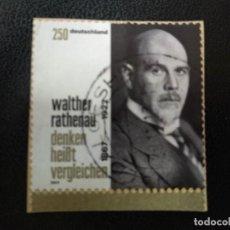 Postales: ALEMANIA 2017. WALTHER RATHENAU. MI:DE 3333, (2264). Lote 205873338