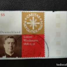 Postales: ALEMANIA 2008. 150. BIRTHDAY OF LORENZ WERTHMANN (1858~1921)MI:DE 2697 (2265). Lote 205873368