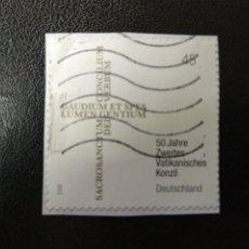 Postales: ALEMANIA 2012. 50 YEARS SECOND VATICAN COUNCIL. MI:DE 2958, (2267). Lote 205873385