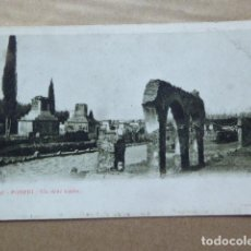 Postales: POSTAL - CARTOLINA - POSTCARD. POMPEYA - POMPEI. VIA DELLE TOMBE. DORSO SIN DIVIDIR. Lote 206213762