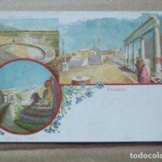 Postales: POSTAL - CARTOLINA - POSTCARD. POMPEYA - POMPEI. PICCOLO TEATRO. DORSO SIN DIVIDIR. Lote 206214150