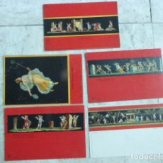 Postales: LOTE DE 5 POSTALES - CARTOLINAS - POSTCARDS. POMPEYA - POMPEI.. Lote 206214522