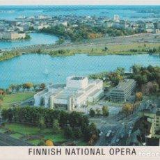 Postales: FINLANDIA, HELSINKI, FINNISH NATIONAL OPERA - ESCRITA. Lote 206274485