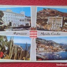 Postales: POST CARD CARTE POSTALE MONACO MONTE CARLO VISTAS PRINCIPADO DE PRINCIPAUTÉ..COTE D´AZUR..VER FOTOS. Lote 206302443