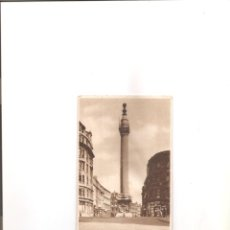 Postales: 2242. LONDRES. THE MONUMENT. Lote 206464967