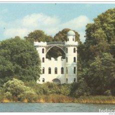 Postales: == C514 - POSTAL - BERLIN - PFAUENINSEL ( PEACOCK ISLAND ) WITH CASTLE. Lote 206599727