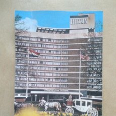 Postales: POSTAL THE AMSTERDAM HILTON HOTEL. Lote 206883053