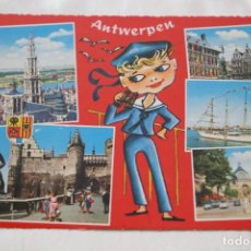 Postales: ANTWERPEN (AMBERES - BELGICA) - DIVERSOS ASPECTOS 930/109 KRUGER. Lote 206901821