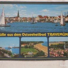 Postales: ALEMANIA OSTSEEHEILBAD TRAVEMÜNDE POST CARD GERMANY SIN CIRCULAR. Lote 206903237
