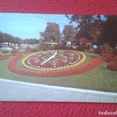 Postales: POST CARD SUIZA SUISSE SWITZERLAND GINEBRA GENEVE L´HORLOGE FLEURIE FLOWERY CLOCK RELOJ DE FLORES.... Lote 206904297
