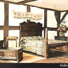 Postales: THE BIRTHROOM. SHAKESPEARE. BIRTHPLACE. STRADFORD UPON AVON. INGLATERRA.. Lote 207118976
