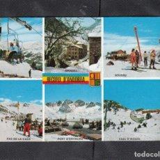 Cartes Postales: 21 VALLS D´ANDORRA. DIVERSOS ASPECTOS.. Lote 207480535