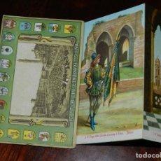 Postales: CUADERNILLO DE POSTALES LE STORICHE CONTRADE DI SIENA, CON 17 POSTALES, UNIFORMES HISTORICOS. ED. DI. Lote 208218987