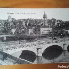 Postales: ANTIGUA POSTAL DE FRANCIA DE LA CIUDAD DE LE MANS PONT GAMBELLA ET VUS PARTIELLE. Lote 208972882