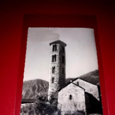 "Postales: POSTAL ANDORRA LA VELLA "" ESGLÈSIA SANTA COLOMA "" ESCRITA Y SELLADA 1958. Lote 209256580"