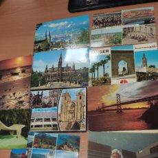 Postales: LOTE DE POSTALES DE VARIOS PAÍSES, ENVIADAS Y SELLADAS. Lote 209298481