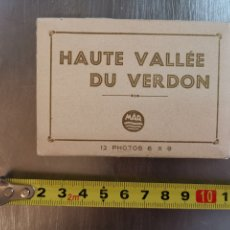 Postales: ALBUM FOTOGRÁFICO 12 MINI FOTOS 6X9. HAUTE VALLE DE VERDON. FRANCE FRANCIA. Lote 209356761