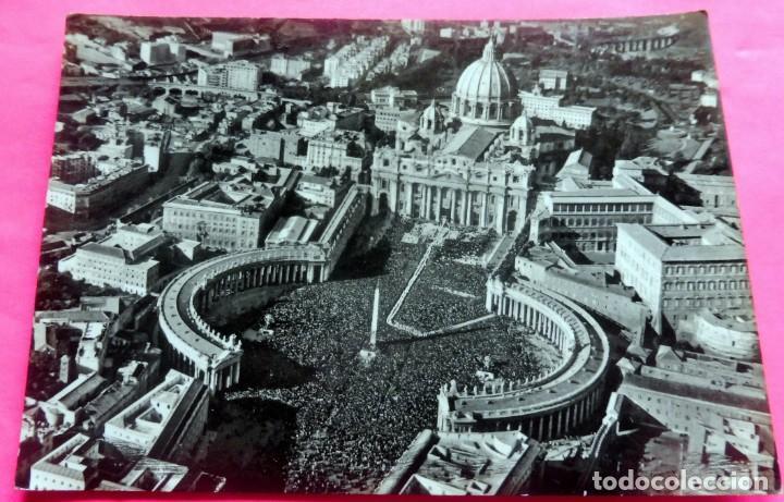POSTAL - ROMA - ITALIA - VERA Nº 6387 - PANORAMA DALL'AEREO (Postales - Postales Extranjero - Europa)