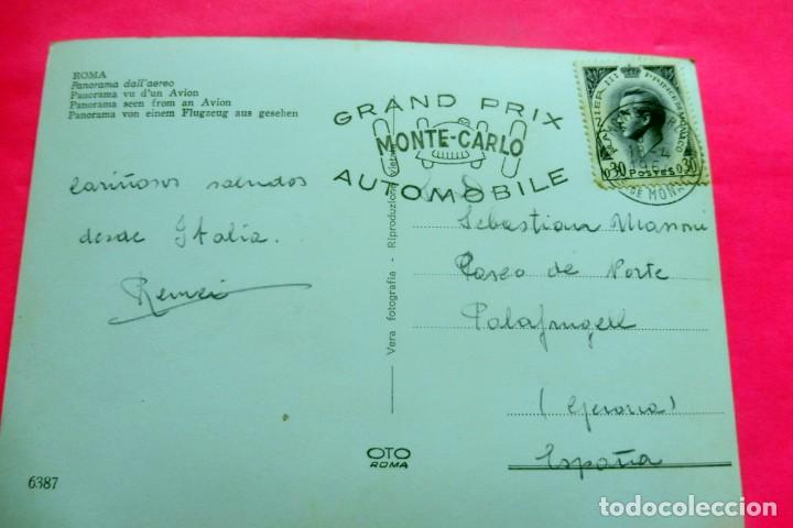 Postales: POSTAL - ROMA - ITALIA - VERA Nº 6387 - PANORAMA DALLAEREO - Foto 2 - 209592892