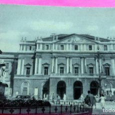 Postales: POSTAL - MILANO - ITALIA - HOTEL BAVIERA ET GARE - SCALA TEATRE. Lote 209594328