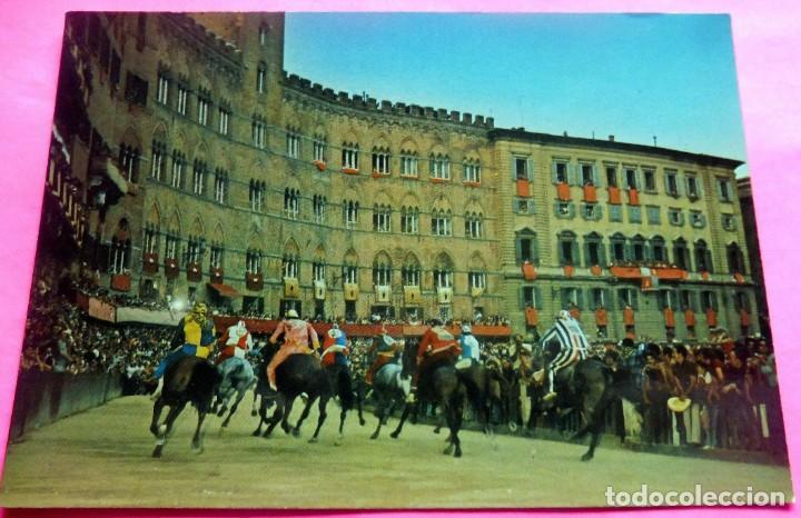 POSTAL - SIENA - ITALIA - ED. R.I.S. DI ROMBONI Nº 113 - IL PALIO (Postales - Postales Extranjero - Europa)