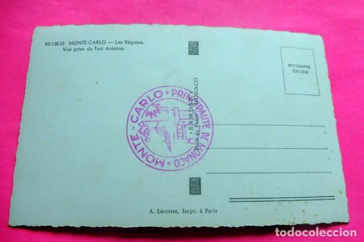 Postales: POSTAL - MONTE-CARLO - ED. LECONTE Nº 99.138.23 - LES REGATES - Foto 2 - 209601265