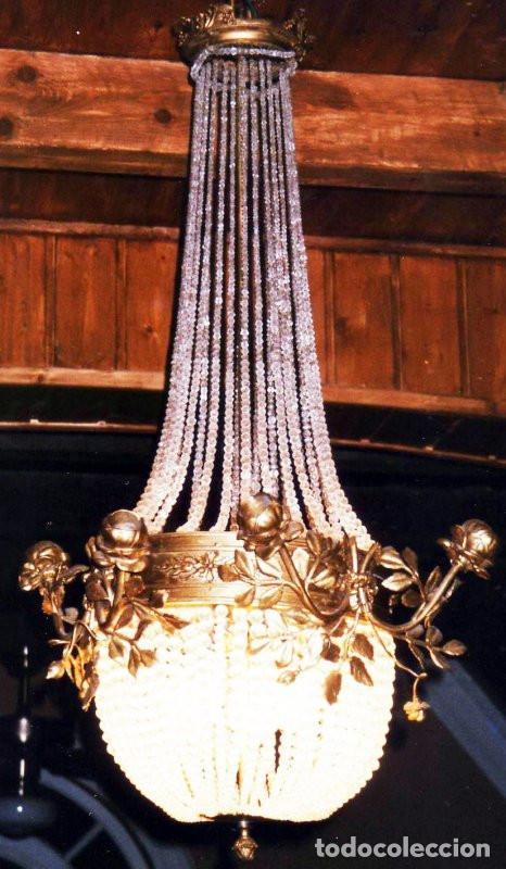 LUSTRE LUSTRE SALLE CHÂTEAU CHÂTEAU ROI PALAIS LAMPE DE CHANDELIER ANTIQUE (Postales - Postales Extranjero - Europa)