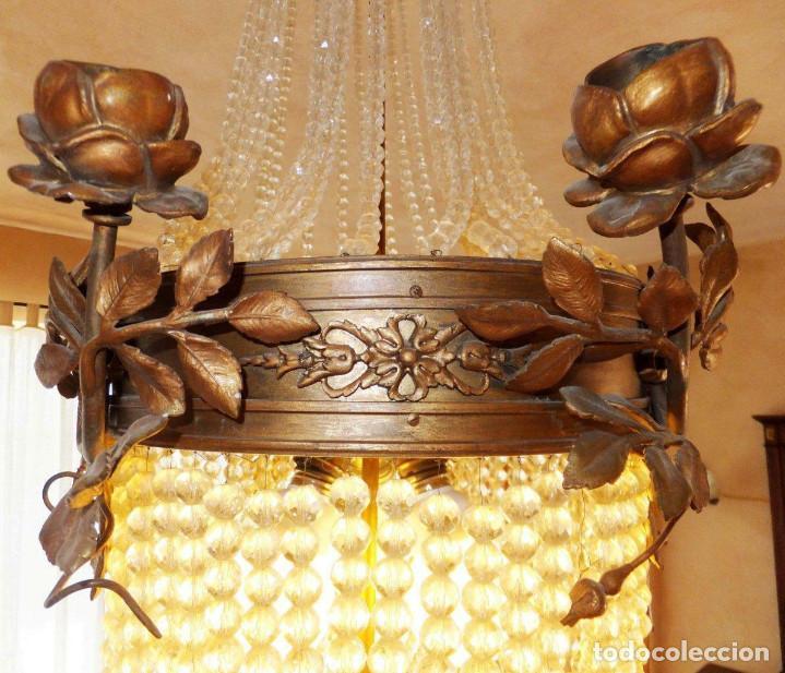 Postales: Lustre Lustre Salle Château Château Roi Palais Lampe de Chandelier Antique - Foto 4 - 209623981