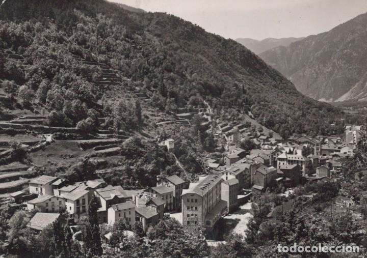 POSTAL VALLS D'ANDORRA - LES ESCALDES - VISTA GENERAL - 943 - VALENTI CLAVEROL (Postales - Postales Extranjero - Europa)