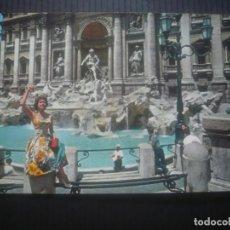 Postales: ROMA-FONTANA DI TREVI-UNA SECOLARE LEGGENDA-EDIZIONE MILANO.. Lote 210221822