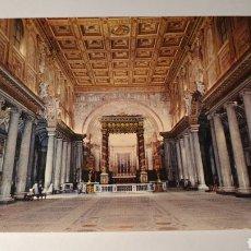 Postales: ROMA/ BASILICA DI ST. MARÍA MAGGIORE/ SIN CIRCULAR/ (REF.B.16). Lote 210466210