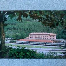 Postales: ESTACIÓN BREIL-SUR-ROYA // TREN SAN REMO - CUNEO // ALN 668, S 3100 Y 1100 Y LOCOMOTORA D345 // 1980. Lote 210578095