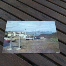 Postales: POSTAL 167 VALLS D'ANDORRA LE SOMMET DU COL ENVALIRA. Lote 210586612