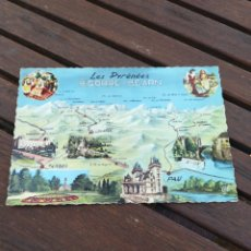 Postales: POSTAL FRANCIA 1719 LES PYRENEES BIGORRE BEARN. Lote 210587692