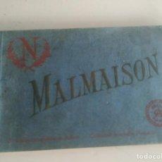 Postales: BLOC TALONARIO DE POSTALES DE LA MALMAISON FRANCIA. A COLOR.. Lote 210706062