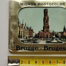 Postales: ÁLBUM POSTALES DE 10 MINI FOTOS. DE BRUGGE, BRUGGES. BÉLGICA BELGIUM. Lote 211270800